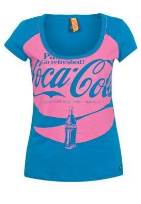 Blusa Coca Cola Small Unic Azul - Coca Cola Clothing