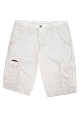 Bermuda Sarja Cargo Calvin Klein Life Off-white - Calvin Kle...
