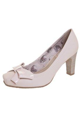 Sapato Scarpin Laço Verniz Rosa - Miucha