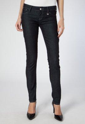 Calça Jeans Skinny Katherine Lurex Azul - Forum