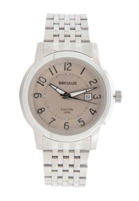 Relógio Seculus 20080G0SBNA1 Prata
