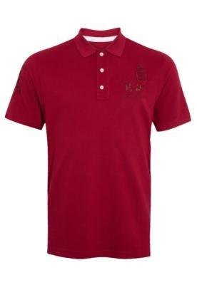 Camisa Polo Classic Vinho - La Martina