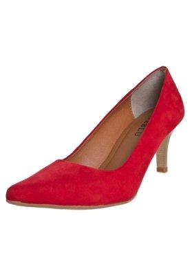 Sapato Scarpin FiveBlu Liso Vermelho