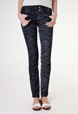 Calça Jeans Biotipo Skinny Kiss Preta