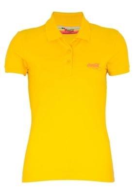 Camisa Polo Coca-Cola Clothing Small Sol Amarela - Coca Cola...