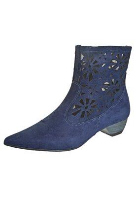Bota Crysalis Cowboy Baixa Tela Azul