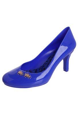 Sapato Scarpin Formiga Azul - Petite Jolie