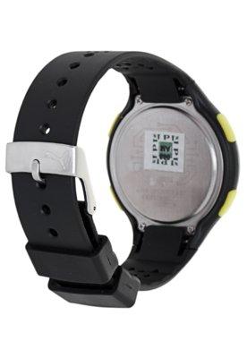 Relógio Puma Faas 200 Preto/Verde/Amarelo