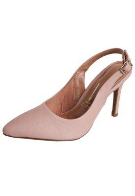 Sapato Scarpin Vizzano Chanel Salto Alto Rosa