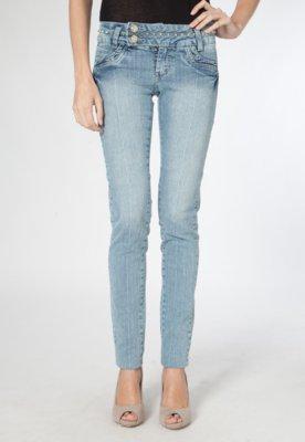 Calça Jeans Skinny Style Azul - Sawary