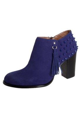 Ankle Boot Cristófoli SPikes Azul
