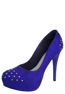 Sapato Scarpin Pink Connection Glamour Azul