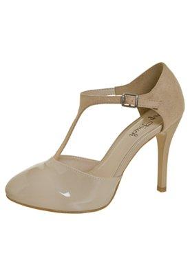 Sapato Scarpin Pop Touch Salomé Bege