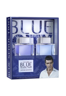Kit Perfume Antonio Banderas Coffret Blue Seduction Perfume ...