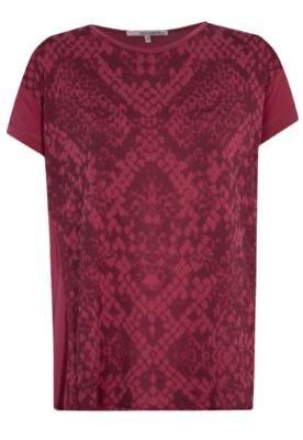 Blusa Recorte Vermelha - Shoulder