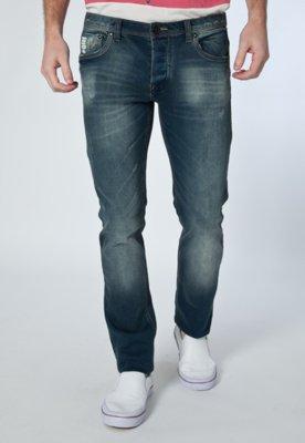 Calça Jeans Handbook Mariano Reta Azul