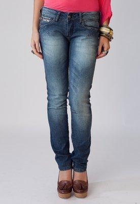 Calça Jeans Elas Skn Azul - Coca Cola Clothing