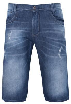 Bermuda Jeans Cure Azul - Sawary
