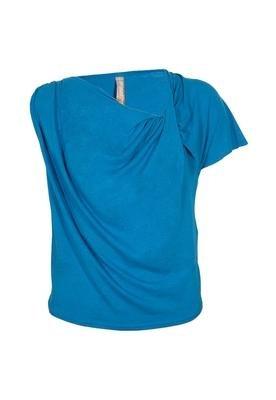 Blusa Confort Drapê Azul - Coca Cola Clothing