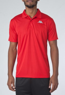Camisa Polo Kappa Sewill Vermelha