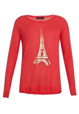 Blusa Thelure Paris Vermelha