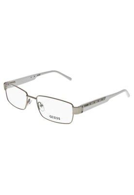 Óculos Receituário Guess 702174654SI Prata