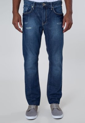 Calça Jeans Khelf Reta Urban Azul