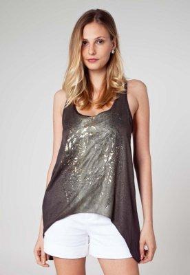 Blusa Tigre Marrom - Espaço Fashion
