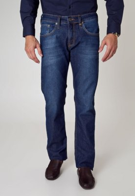 Calça Jeans Colcci Reta Alex Like Azul