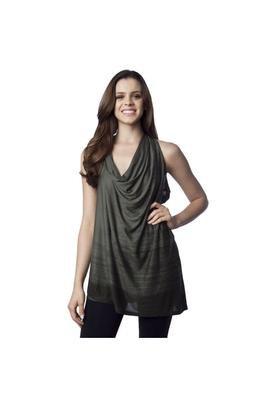 Blusa Drapping Verde - Espaço Fashion
