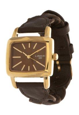 Relógio Lince LQCK002L M1MX Marrom