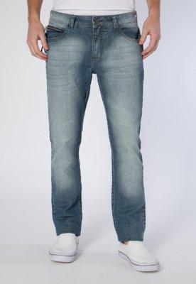 Calça Jeans Triton Reta Straight Gilson Azul