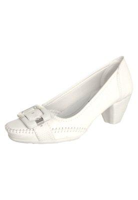 Sapato Scarpin Anna Flynn Talma Branco