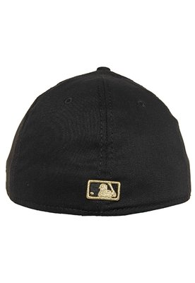 Boné 39Thirty High Crown MLB Boston Red Sox Preto - New Era