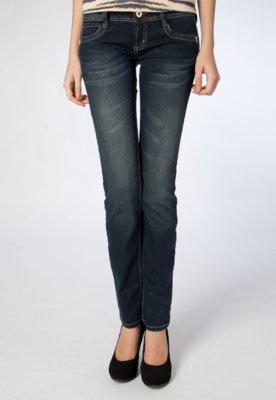 Calça Jeans Colcci Reta Edna Azul