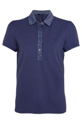 Camisa Polo Gant Oxford Azul