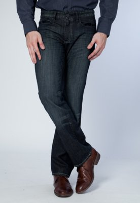 Calça Jeans Kenneth Cole Eight Azul