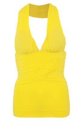 Blusa Tiras Amarela - Coca Cola Clothing