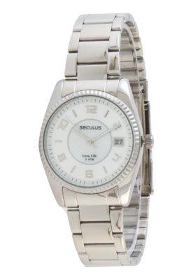 Relógio Seculus 28173L0SBNA1 Prata