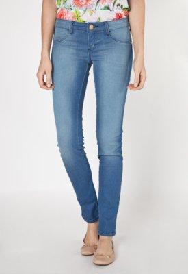 Calça Jeans Sommer Grace Base Skinny Azul