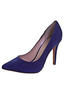 Sapato Scarpin Camurça Azul - Anamac