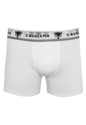 Cueca Boxer Classic Branca - Cavalera