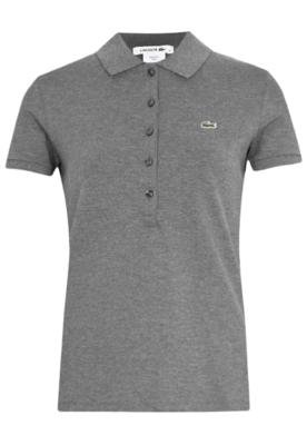 Camisa Polo Lacoste Galaxie Cinza