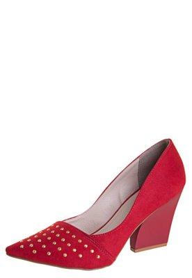 Sapato Scarpin Pink Connection Hotfix Vermelho