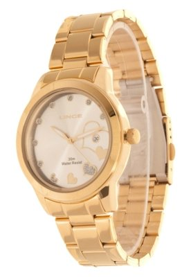 Relógio Lince LRG4173L S1KX Dourado