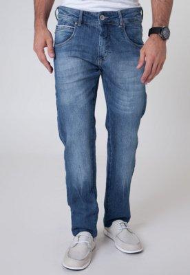 Calça Jeans Coca-Cola Clothing Reta Hall Bourbon Azul - Coc...