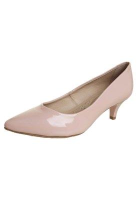 Sapato Scarpin Miucha Bico Fino Conforto Rosa