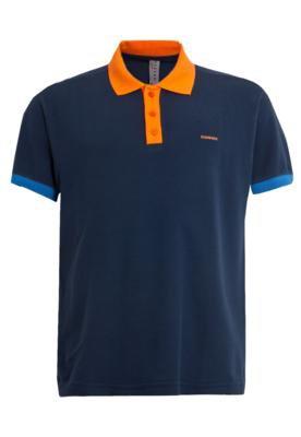 Camisa Polo Sommer Mini Mister Azul