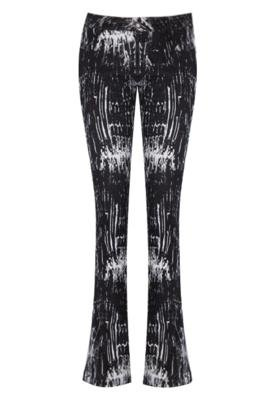 Calça Print Preta - Calvin Klein Jeans