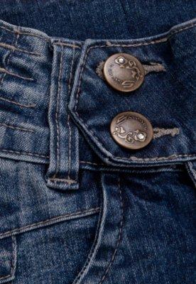 Calça Jeans Sawary Infantil Skinny Star Azul